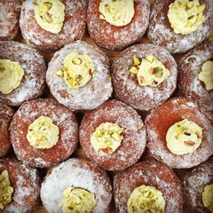 Try some bomboloni - they're bombolovely!