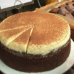 We make London's best chocolate Guinness cake