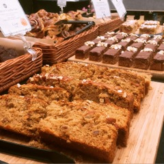 RHS Rose Show recipe - apple and rose hip cake