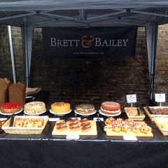 The B&B stall at Crystal Palace Food Market